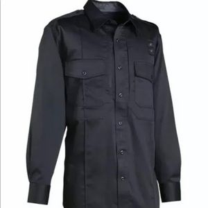 5.11 tactical PDU CLASS B navy blue police shirt
